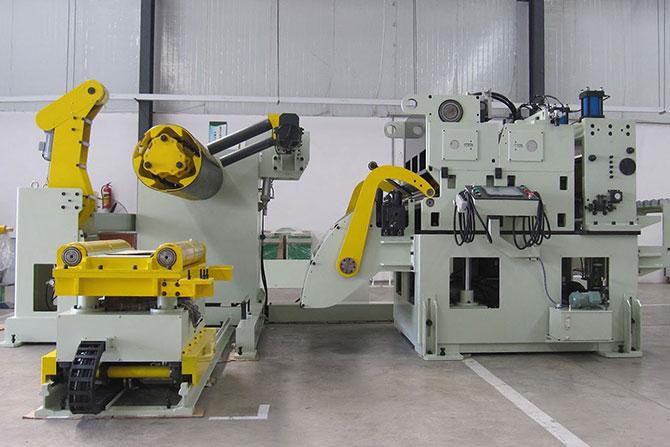 高张力三合一送料机,强力三合一送料机,高张力钢板送料机