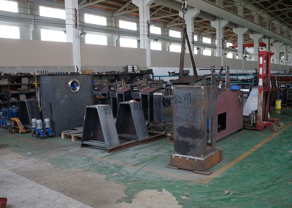 送料器焊接,送料器喷涂